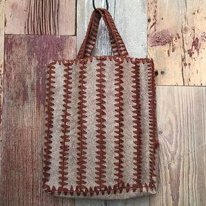 Vintage Handmade Bookbag